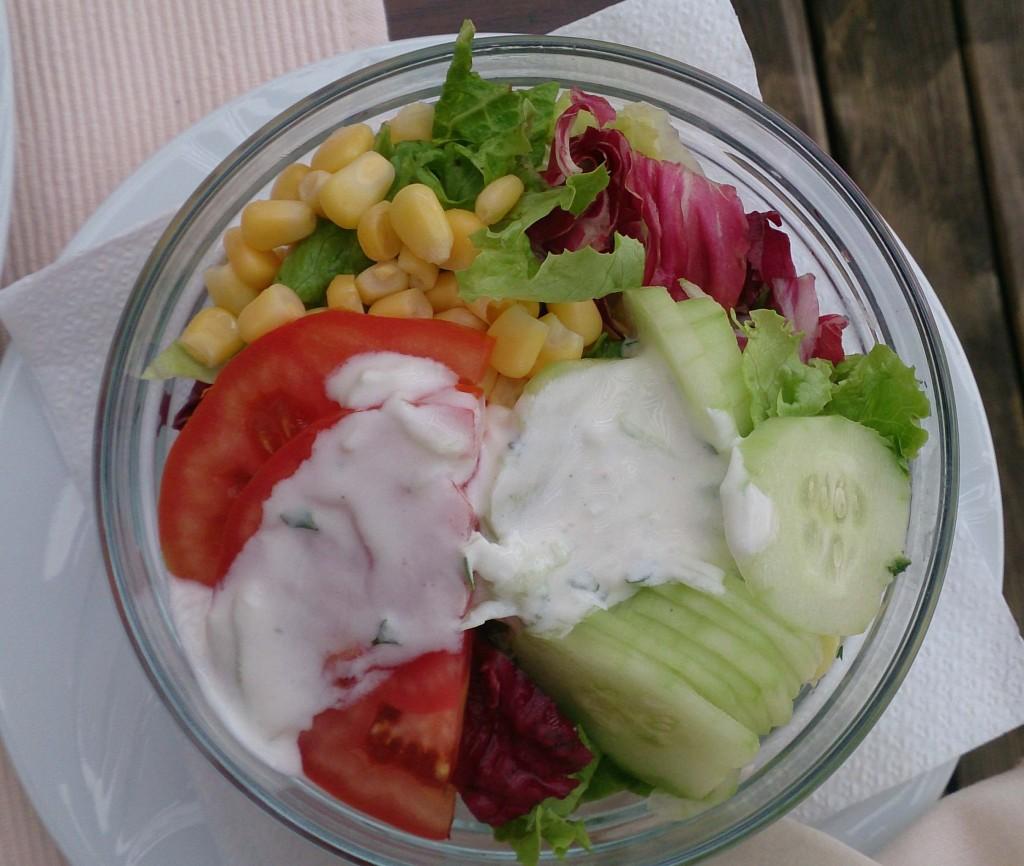 """Ljubljana camp """"salad"""""""