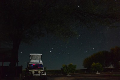 Camping Under African Skies