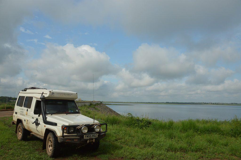 Nangbeto Dam.