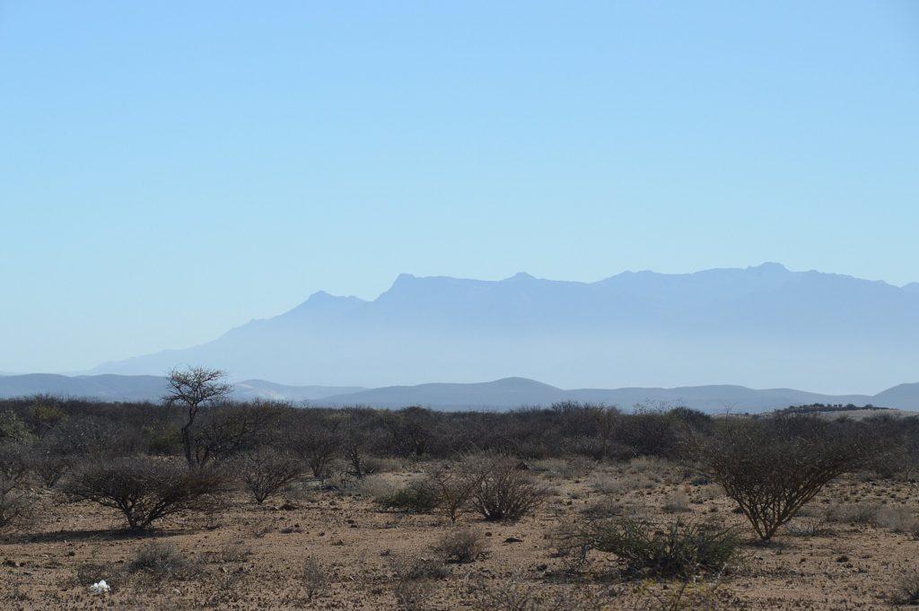 The distant Brandberg
