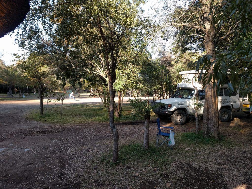 Camping at Maramba