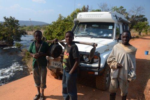 On the road to Shiwa Ngandu